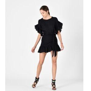 Isabel etoile marant delicia ruffle dress